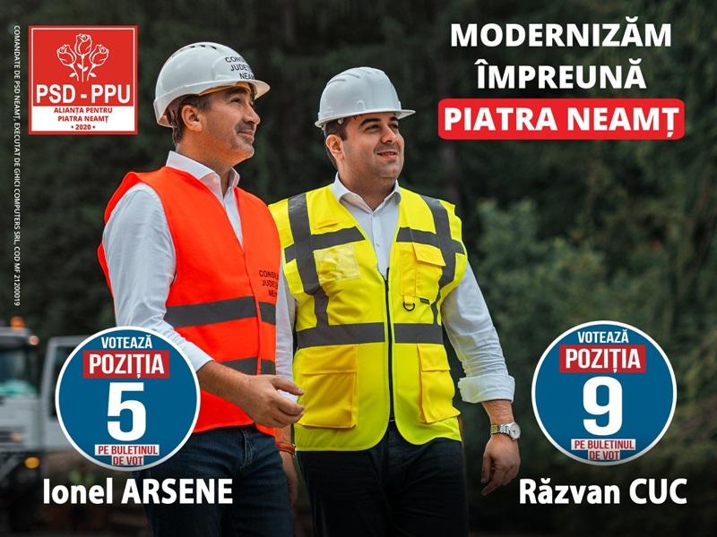 Drumurile naționale care străbat Neamțul, modernizate prin implicarea președintelui Arsene