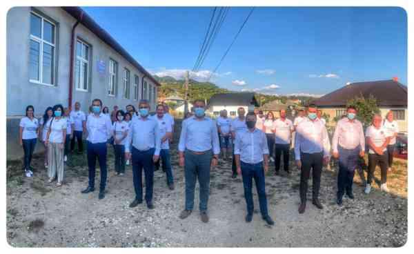 Echipa Alianței pentru Bistrița-Năsăud a ajuns în Sângeorz-Băi