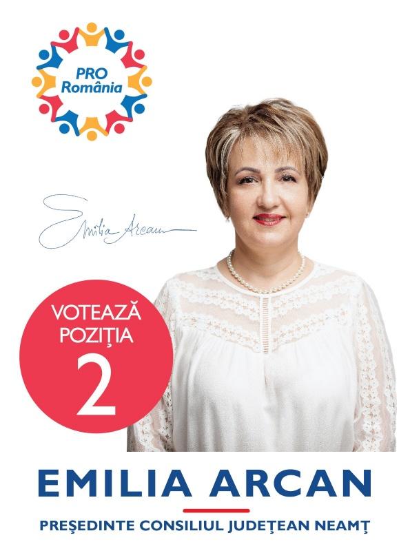 """Emilia Arcan (Pro România): """"Fără investiții, crearea de locuri de muncă mai bine plătite este o misiune imposibilă"""""""