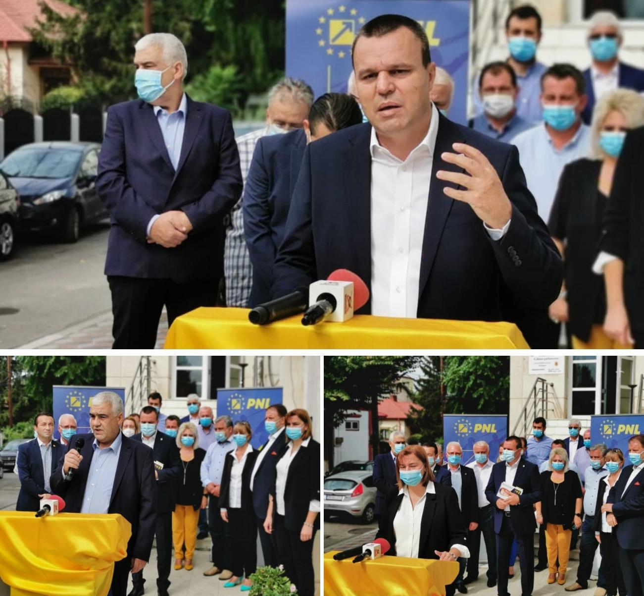 """Eugen Pîrvulescu, candidatul PNL la preşedinţia CJ: """"Vom spune gata! A venit clipa mult aşteptată. Pe 27 septembrie, vom scăpa de PSD"""""""