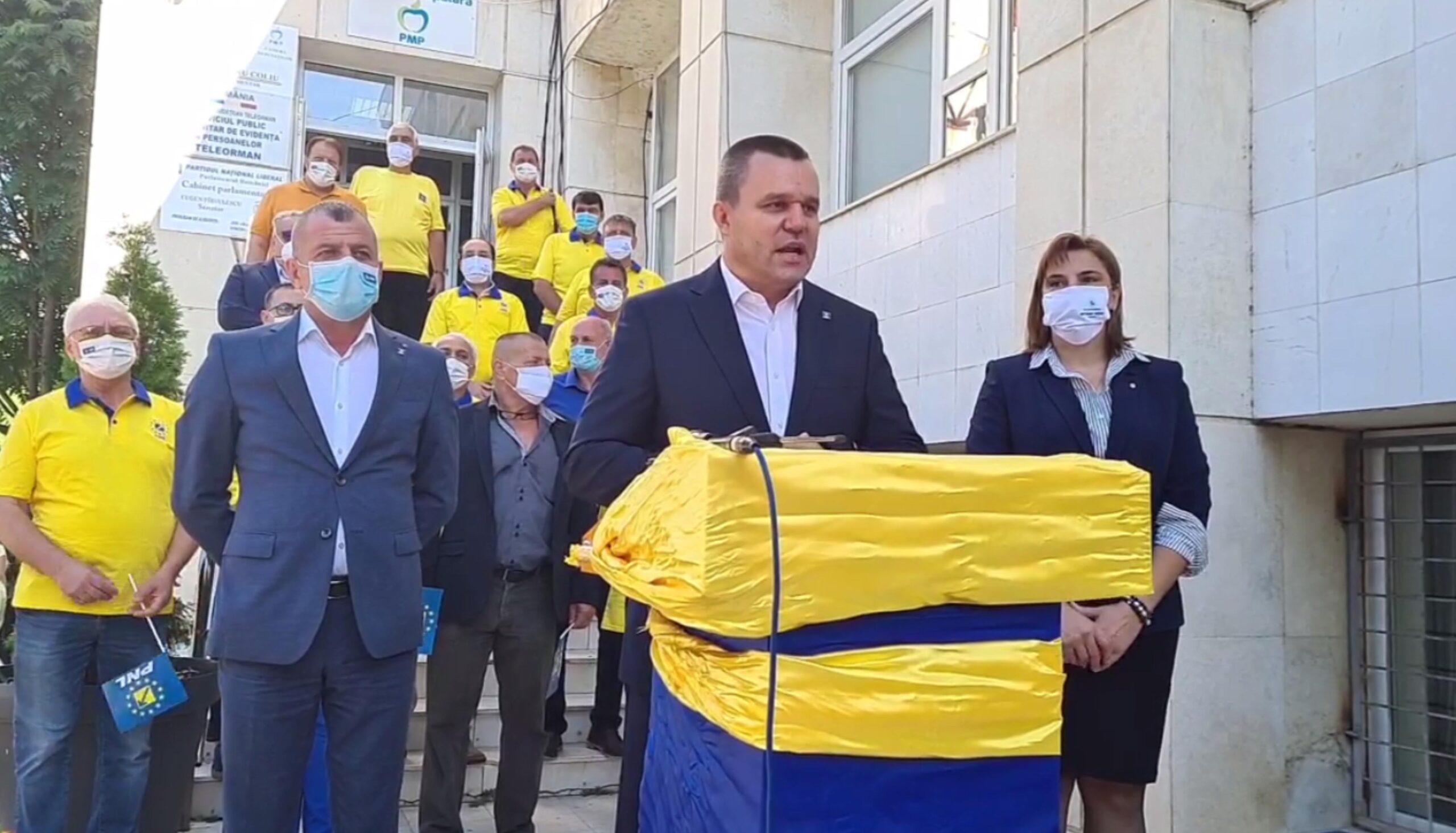 Eugen Pîrvulescu, candidatul PNL pentru preşedinţia Consiliului Judeţean, apel către forţele politice de dreapta din Teleorman