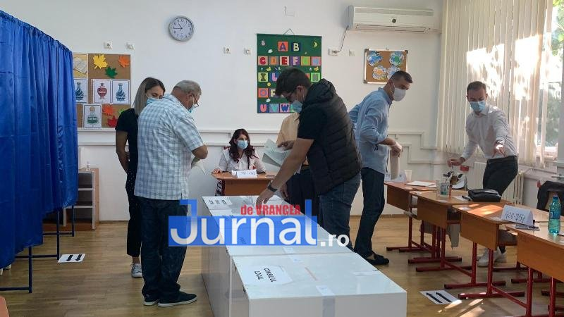 Ora 20.00 –  jumătate dintre vrânceni au ieșit la vot