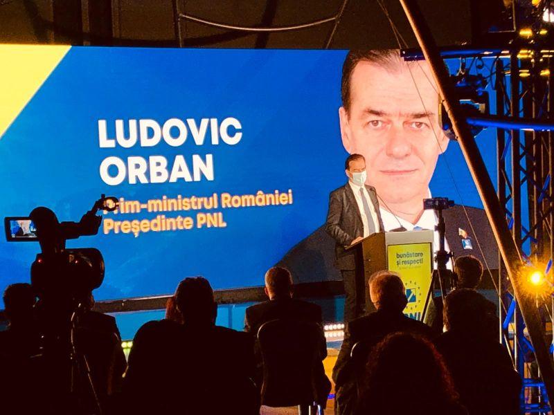 Premierul României Ludovic Orban: Pe 27 consfinţim sfârşitul erei PSD, a unui baron care conduce acest judeţ, Ionel Arsene, cel care nu a făcut altceva decât să condamne judeţul la subdezvoltare!