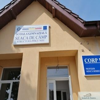 Prima Scoala Inteligenta din judetul Dolj este in Comuna Seaca de Camp satul Piscu Nou