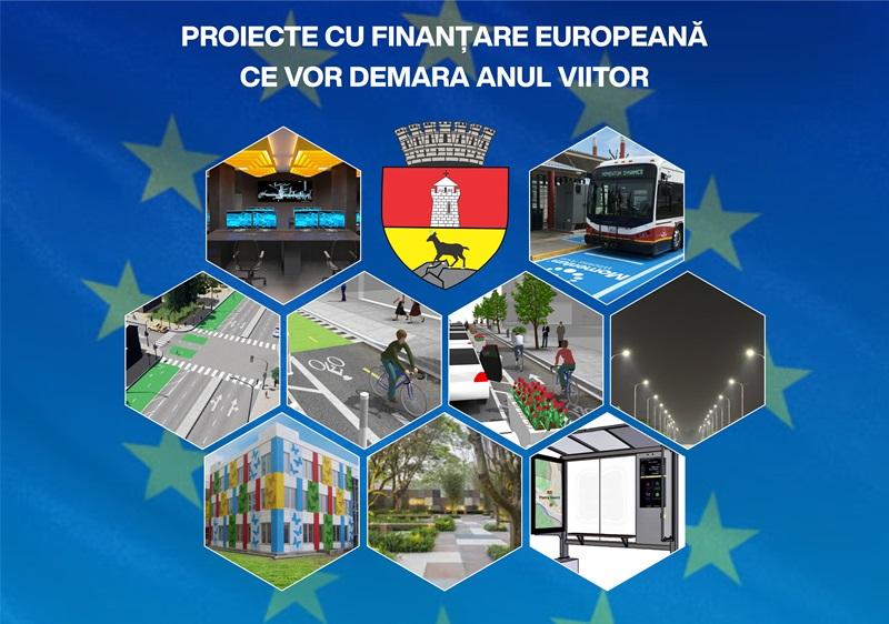 Primăria Piatra-Neamț – 26 de proiecte europene în valoare de 53.5 milioane de euro, aflate în implementare, cu contractele de finanțare semnate și termen de finalizare maxim anul 2022