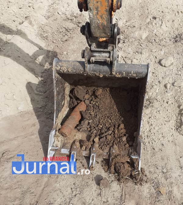 Proiectile găsite în pământ pe raza comunei Obrejița