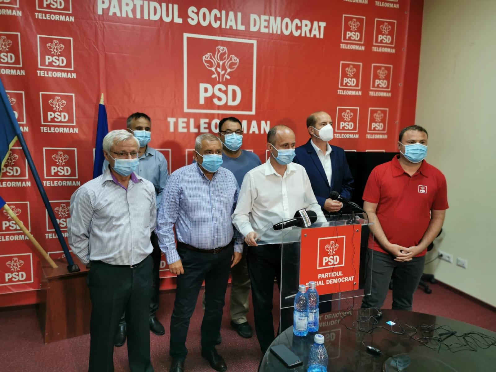 """PSD Teleorman, la final de campanie electorală. Adrian Gâdea: """"Suntem singurul partid care a demonstrat ceea ce înseamnă responsabilitate"""""""