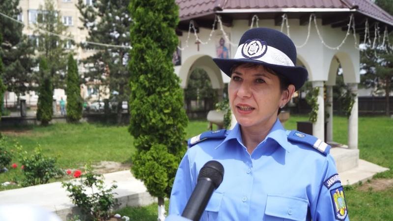 """Purtătoarea de cuvânt a Jandarmeriei Neamț: """"Nu am avut ghinionul să am pile și relații"""""""