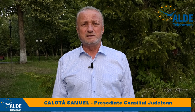 """Samuel Calotă, candidatul ALDE pentru președinția CJ: """"Avem candidați serioși, oameni credincioși care nu vor pârjoli bugetul localității sau al județului"""""""