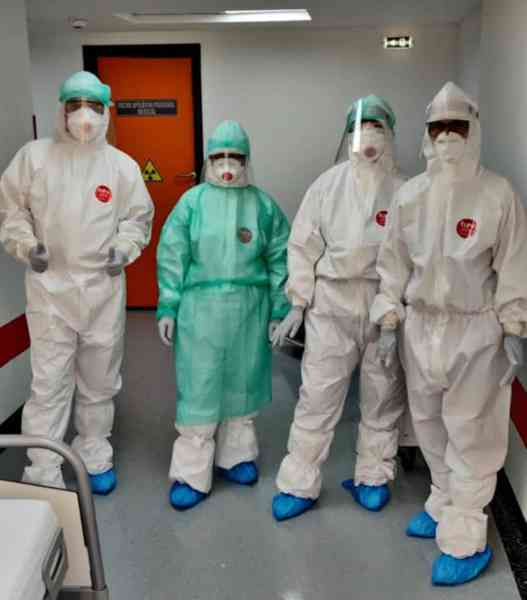 STUDIU Circa 3 milioane de angajaţi din domeniul sanitar au avut COVID-19