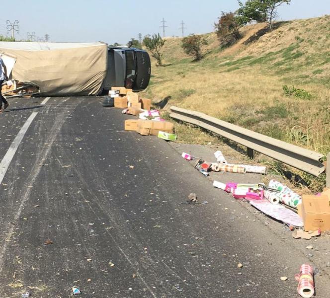 Ultimă Oră: Circulație pe un singur fir la ieșire din Mărășești, după un accident