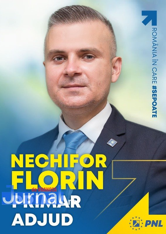 ULTIMA ORĂ: PNL a zdrobit PSD la Adjud! Florin Nechifor noul primar al orașului Adjud