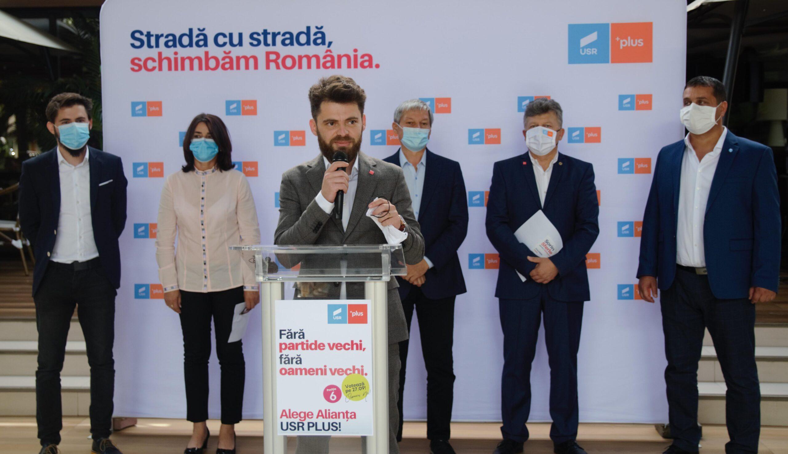 Alianţa USR PLUS Teleorman şi-a ales candidaţii pentru Parlamentul României