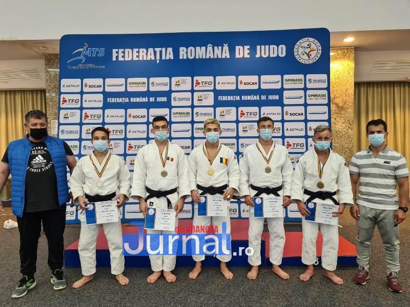Aur, argint și bronz pentru judoka CSM LPS Focșani la Cupa Rom�