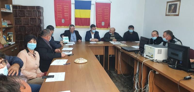 Ceahlău: prima ședință de investire a Consiliului local din j