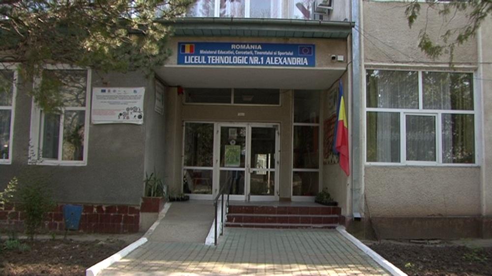 Clădirea laboratoarelor de la Liceul Tehnologic nr. 1 din munici