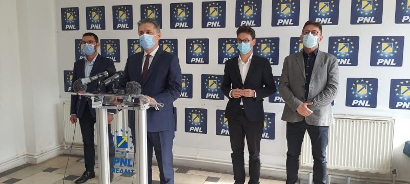 Conferință de presă comună PNL, USR PLUS și Pro România