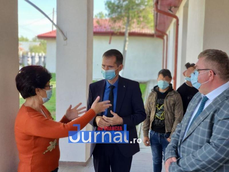 Președintele CJ Vrancea a vizitat Centrul școlar pentru educaț