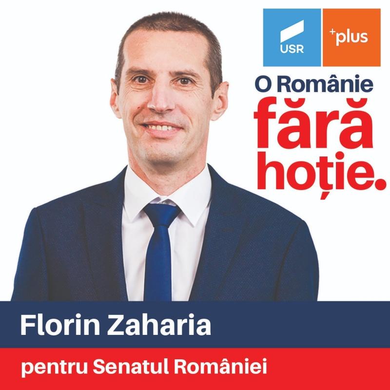 """Florin Zaharia (USR PLUS Neamț): """"Îmi doresc ca Neamțul să"""