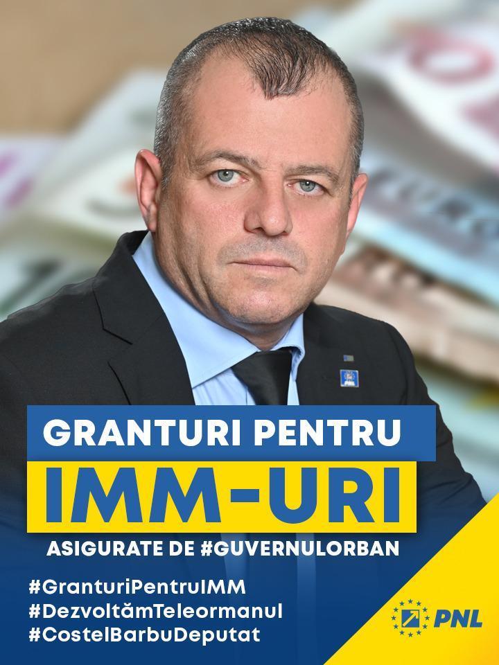 Granturi pentru IMM-uri, asigurate de Guvernul Orban, în județu