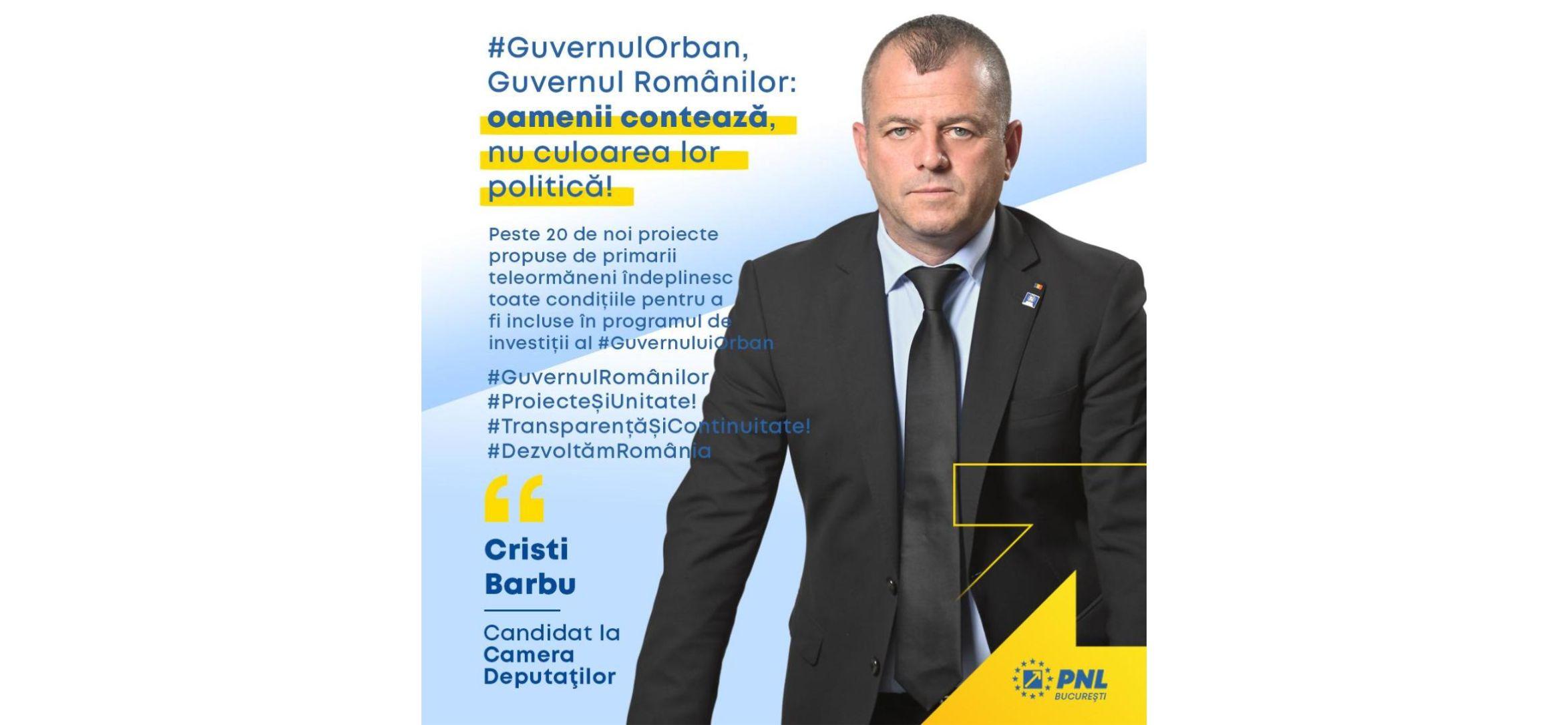 #GuvernulOrban, Guvernul Românilor: oamenii contează, nu culoar