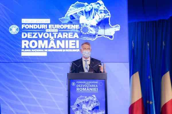 """Iohannis: """"Am obţinut pentru România 80 miliarde euro"""". Orb"""
