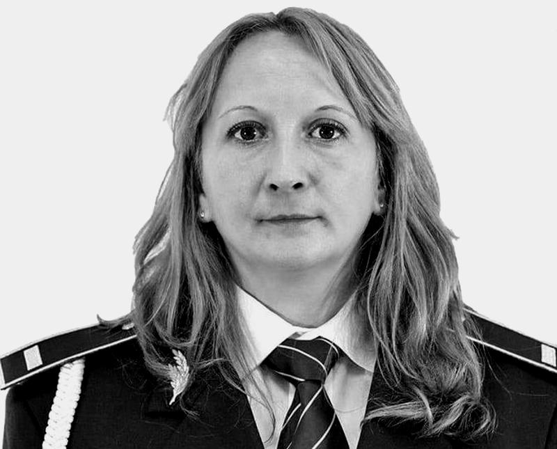 O polițistă din Alba a murit într-un accident nefericit produs