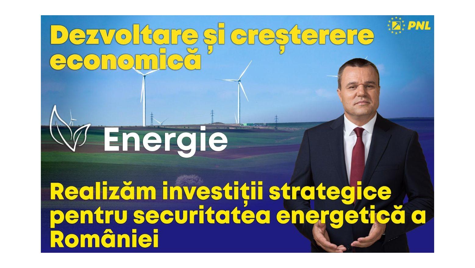Senator Eugen Pîrvulescu: Investim în energie!