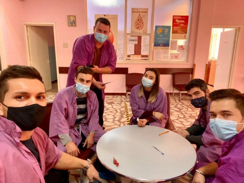 Tinerii liberali din Piatra Neamț au donat sânge