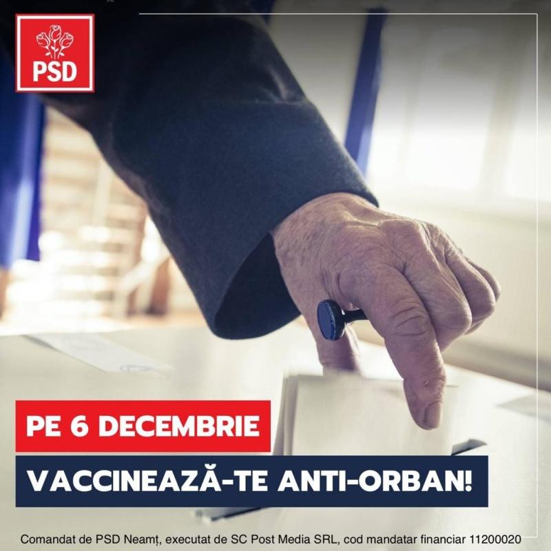 """""""Votezi ca să te salvezi!"""", campanie a Partidului Social Dem"""