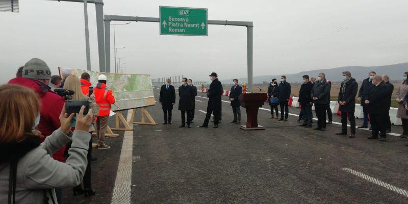 Inaugurare istorică și electorală a primei autostrăzi din Mol