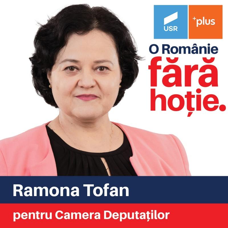 Ramona Tofan, o voce feminină pentru Neamț