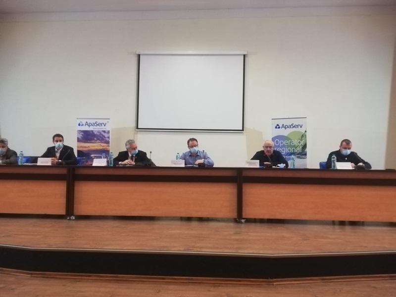 Conferință de presă Apa Serv. Live