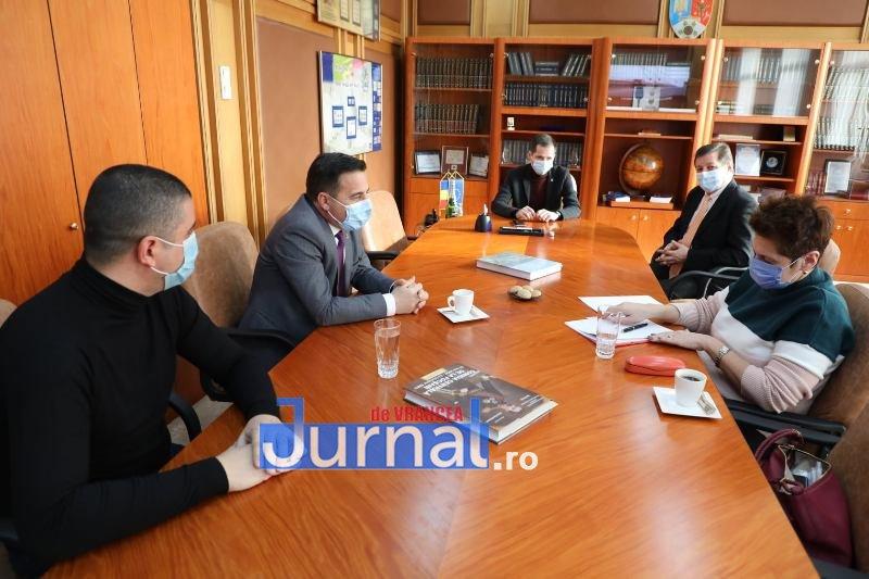 Discuții avansate la CJ Vrancea pe tema rețelei de alimentare c