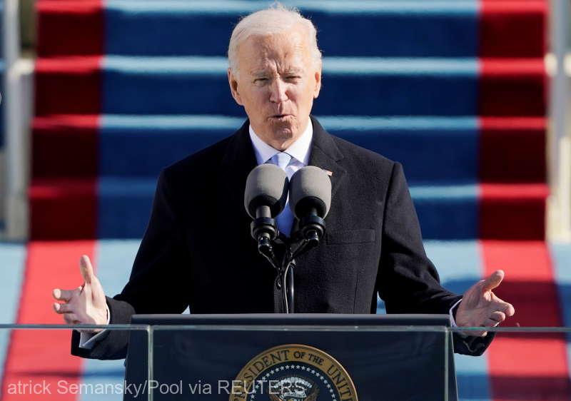 Joe Biden face o pledoarie pentru unitate în discursul său inau