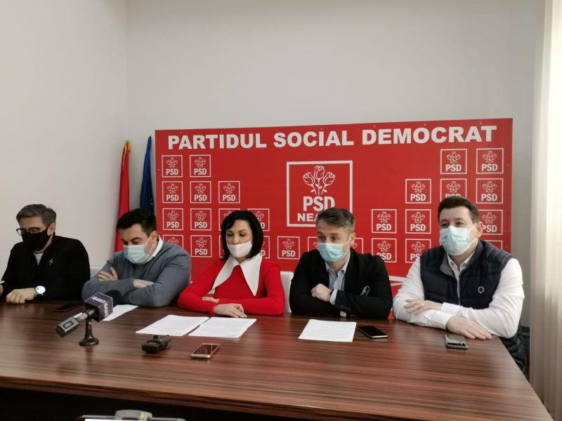 Live. Conferință de presă la PSD Piatra Neamț