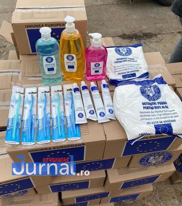 Focșani: Când începe distribuirea produselor alimentare și de