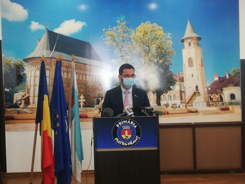 Live. Conferință de presă Primăria Piatra Neamț: buget și c