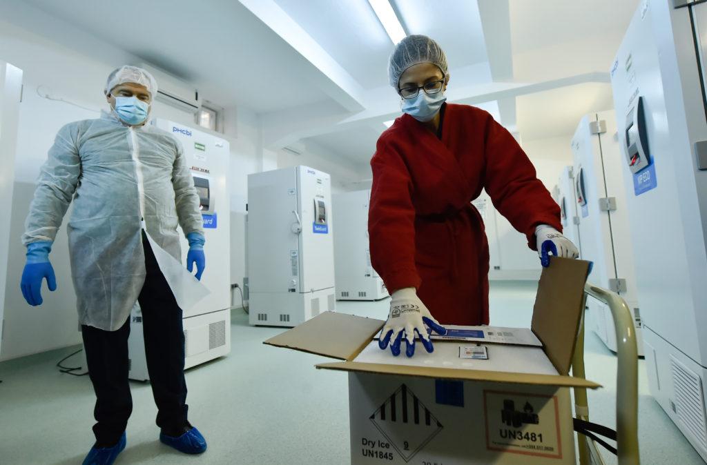 O nouă tranșă de vaccin Pfizer/BioNTech sosește în țară