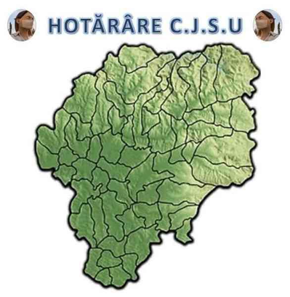 Cinci comune din Bistrița-Năsăud, sub restricții