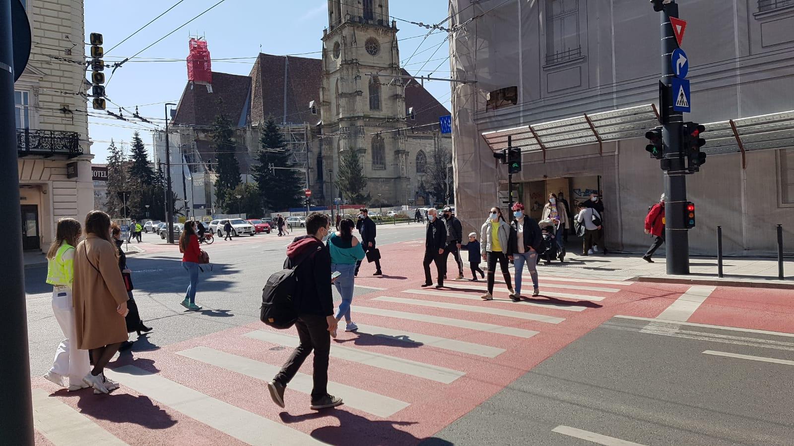Localități din județul Cluj, unde rata de infectare a depăși