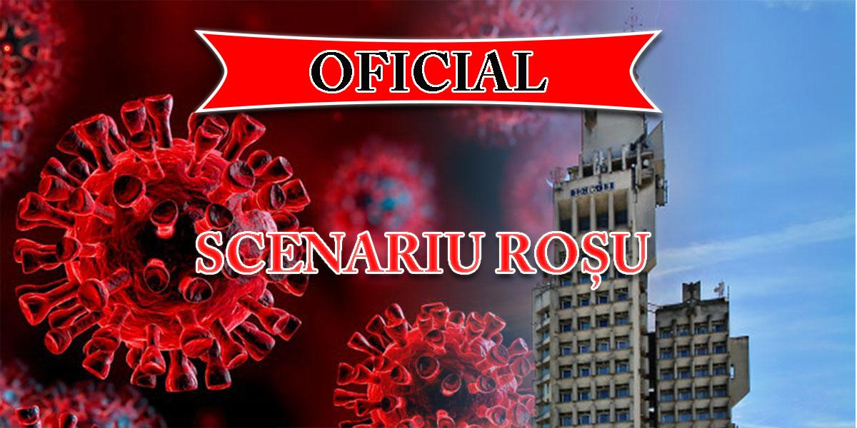 Municipiul Satu Mare intră astăzi oficial în scenariul roșu.