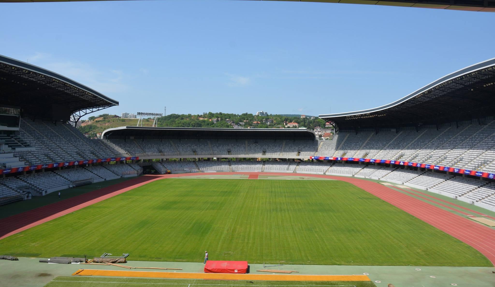 Stadionul Cluj Arena, verificat de UEFA în perspectiva găzduiri