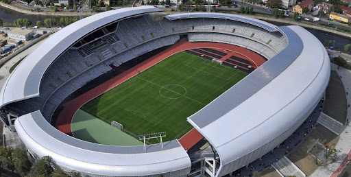 UEFA, în vizită la Cluj Arena. Delegația UEFA a verificat cond