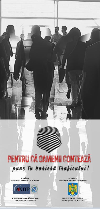 Lansăm campania națională de prevenire a traficului de persoan