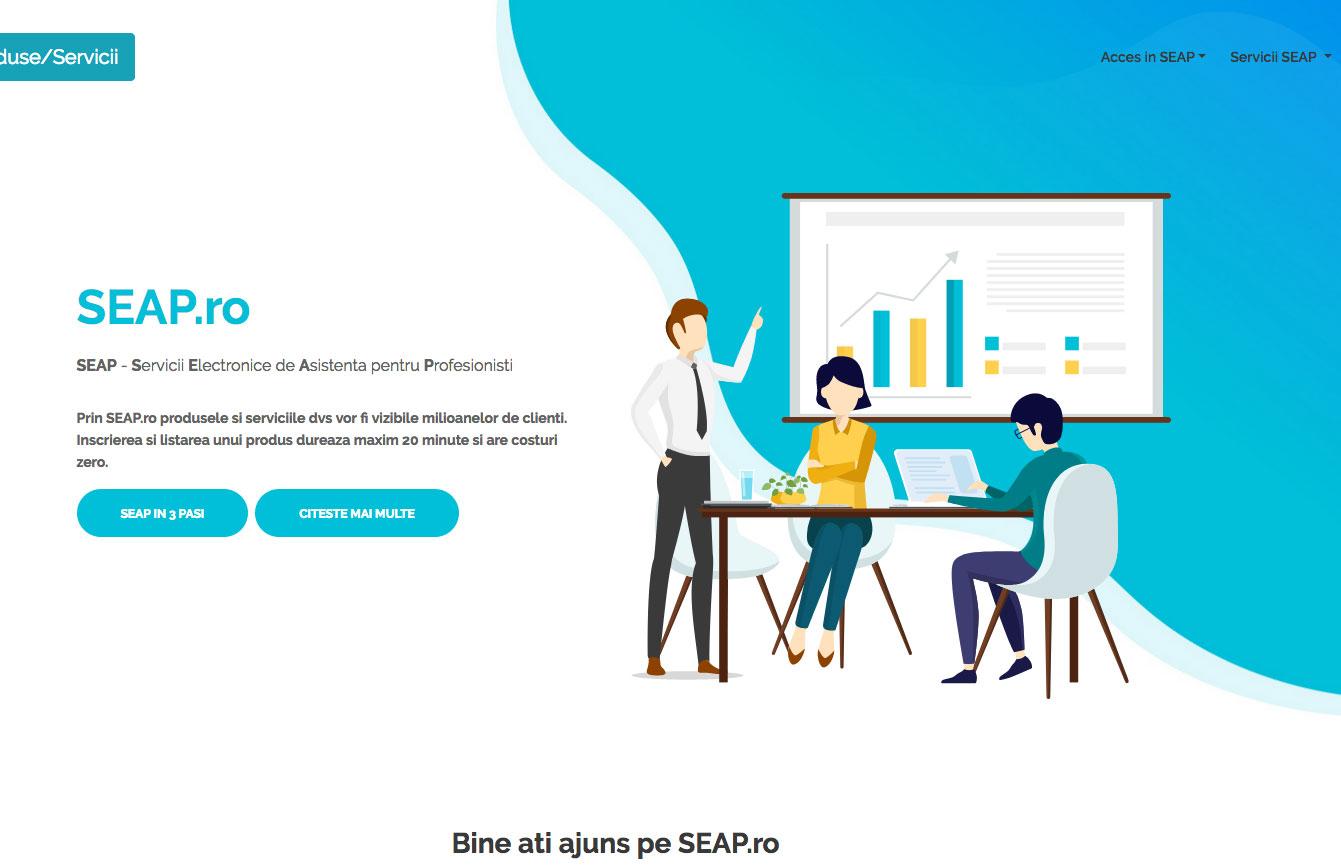 SEAP.ro -  Servicii Electronice de Asistenta pentru Profesionisti