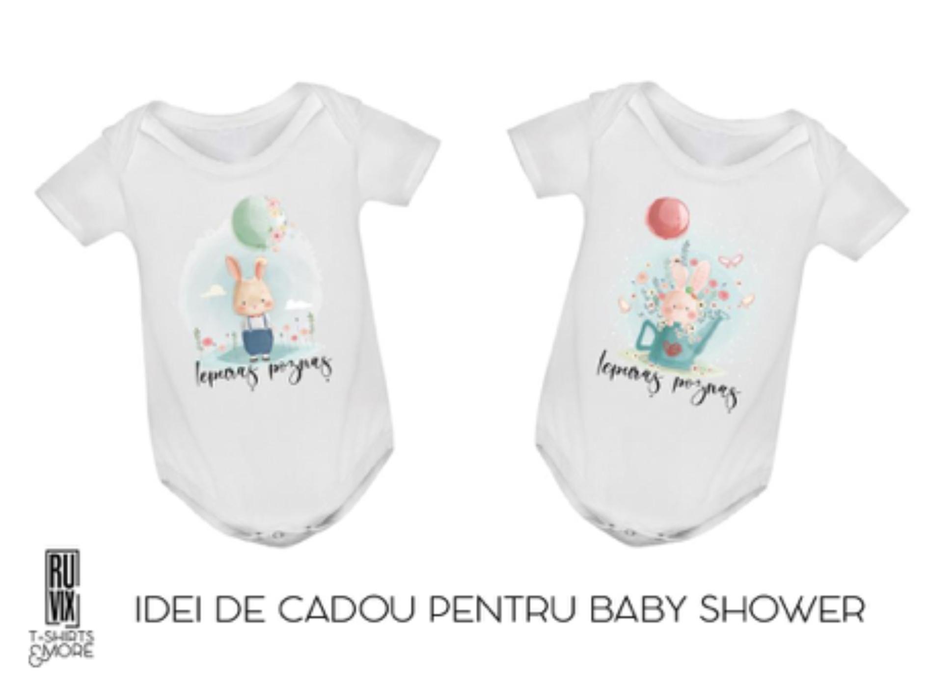 Un body personalizat pentru bebe, ideea perfectă de cadou pentru
