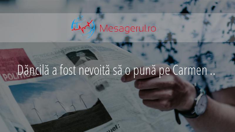 Dăncilă a fost nevoită să o pună pe Carmen Elena Tatu în funcția de șefă antifraudă la ANAF
