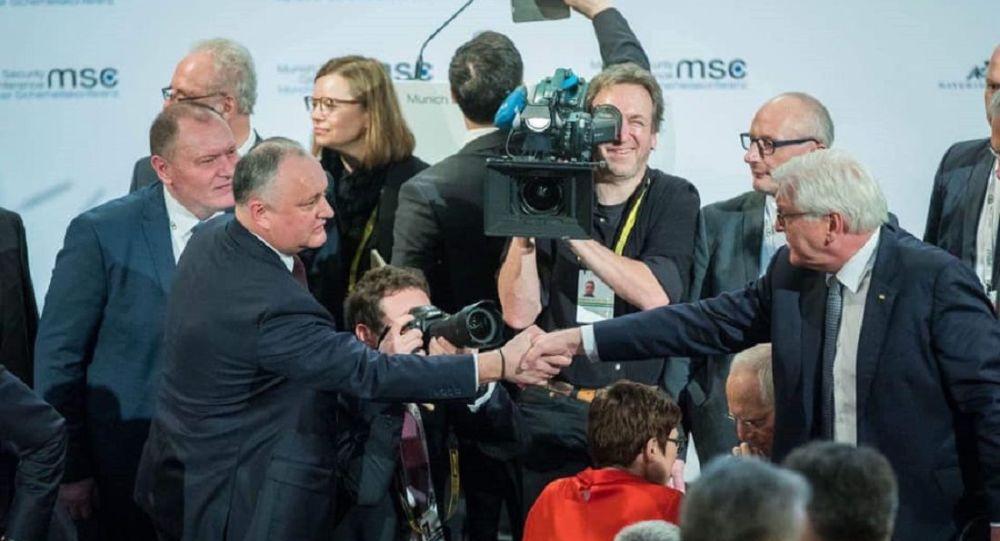 Dodon, întrevederi importante la München: Steinmeier, Aliyev și Pashinyan