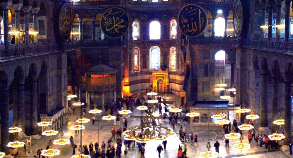"""Rusia: intențiile Turciei privind Hagia Sophia, """"o amenințare"""" pentru civilizația creștină"""